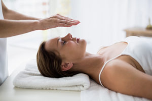 Therapist helping a client through a holistic therapy program in New Hampshire