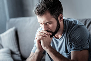 man is in need of a grief and loss therapy program