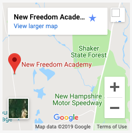 New Freedom Academy on Google Maps
