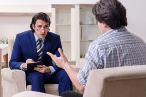 Therapist administering a dialectical behavior therapy program